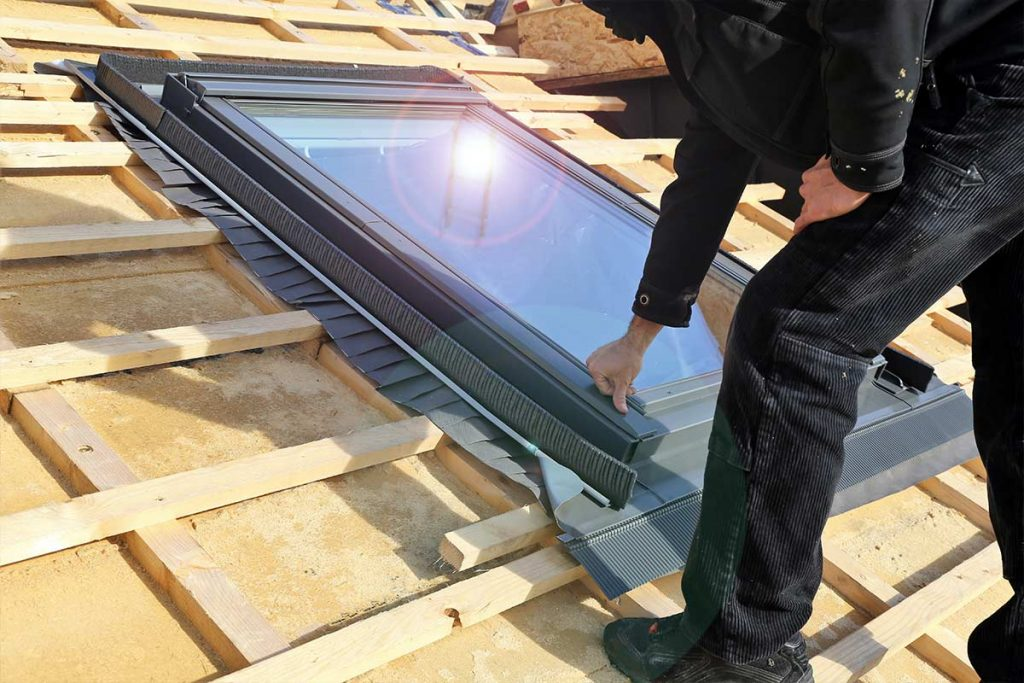 Sunroof in Edmonton Under Construction