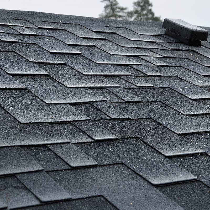 Architectural shingles asphalt shingles