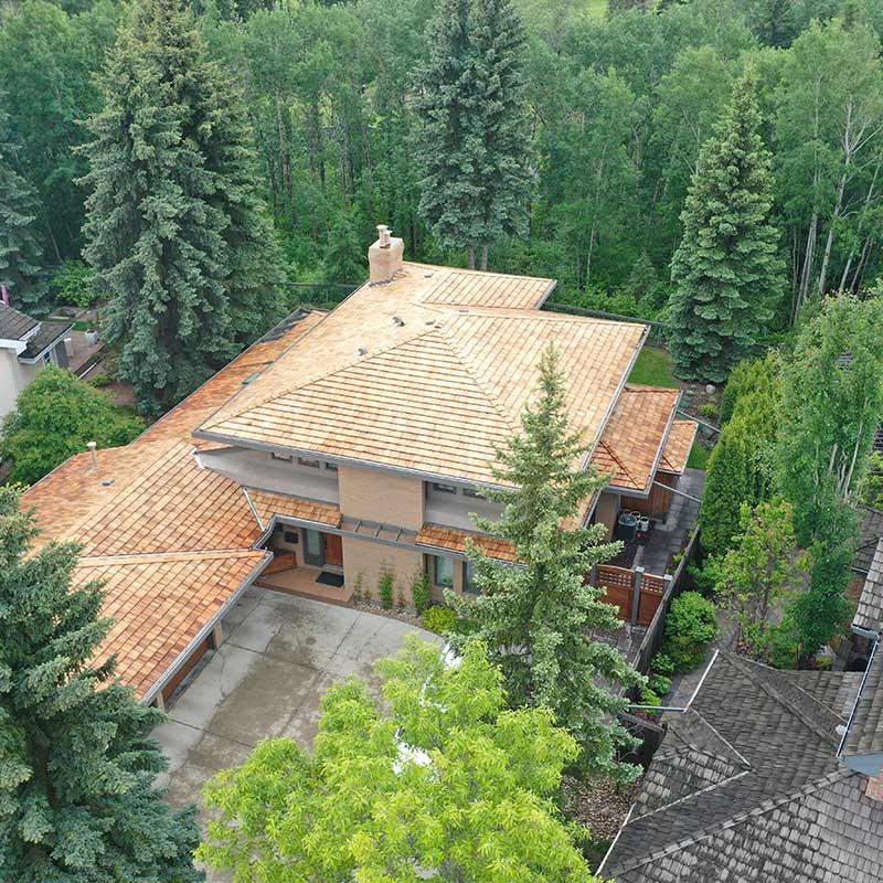 Cedar Roofing contractor edmonton