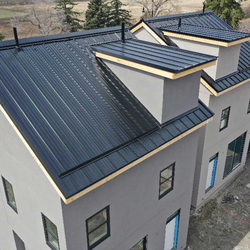new metal home roof edmonton