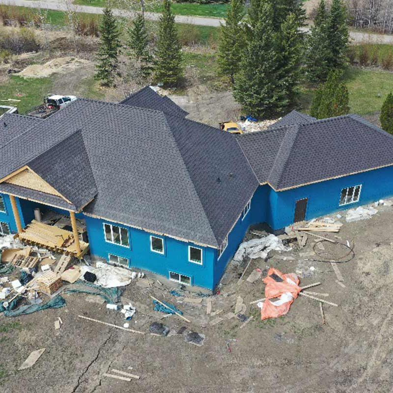 New asphalt roof edmonton
